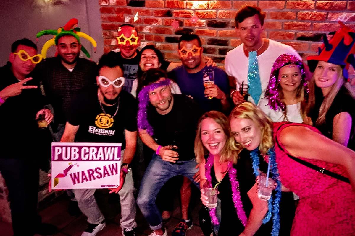 Паб Crawl Warsaw