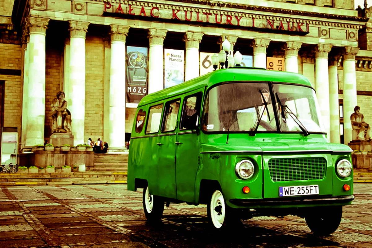 Old Polish Van at the Communism Tour