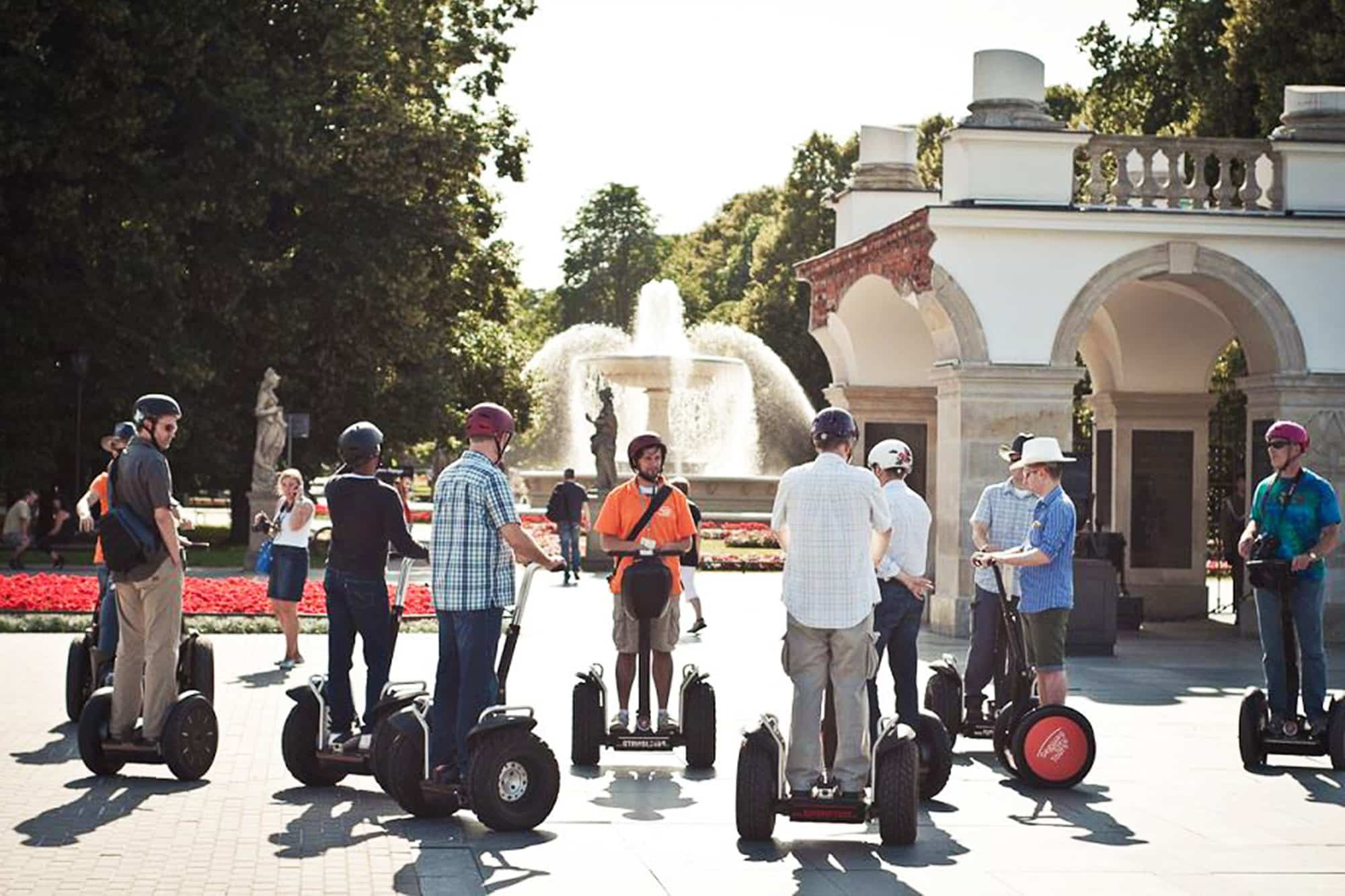 Segway Tour in Warsaw at Pilsudskiego Square