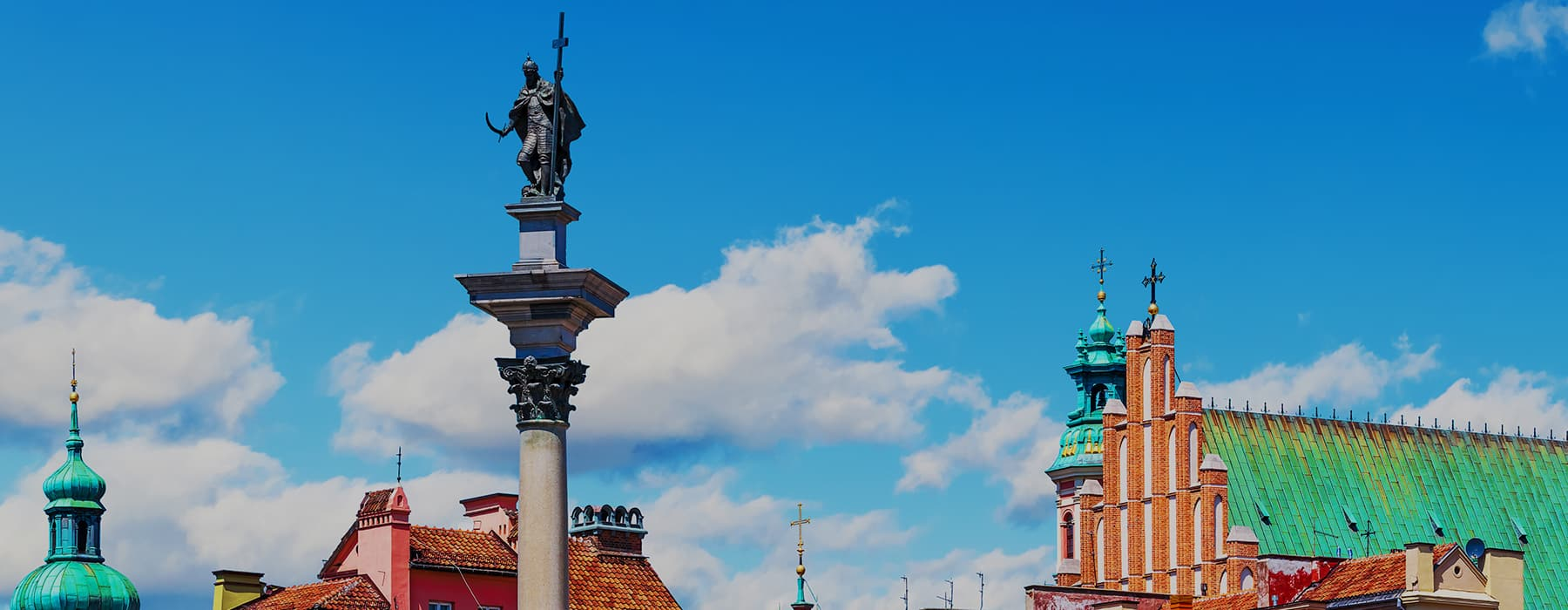Sigismund Column in the Old Twon in Warsaw Slider 2