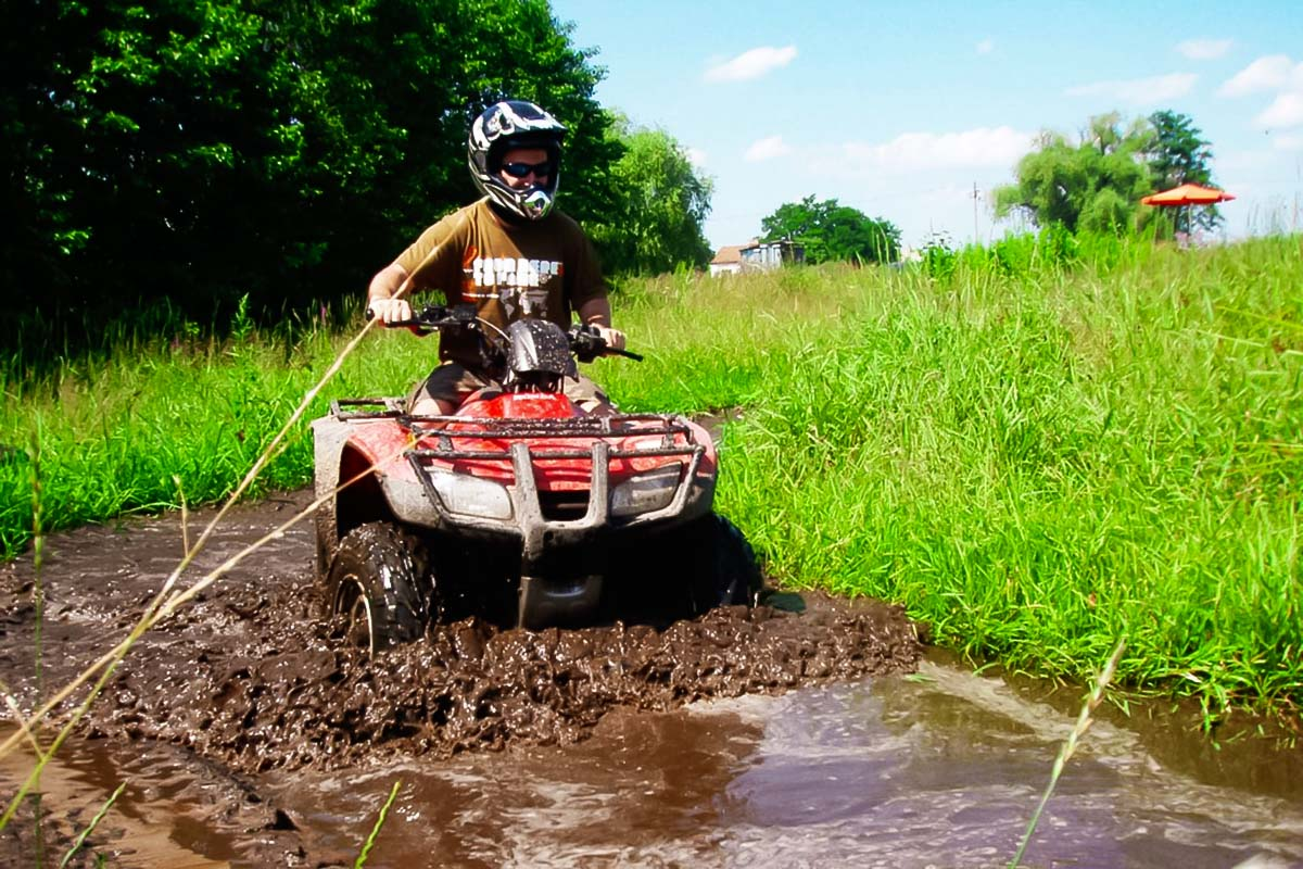 Quad Biking in Warsaw as a nice stag activity