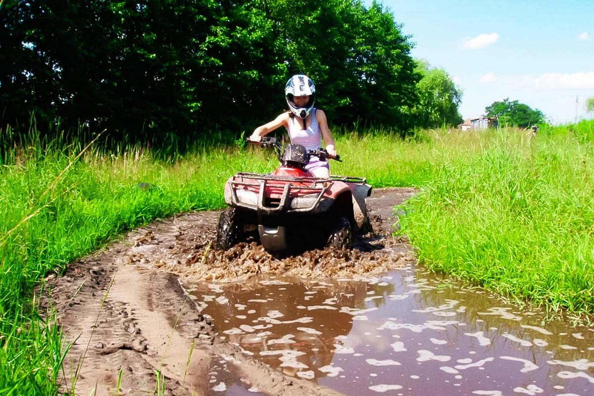 Quad Biking for a bachelor party in warsaw