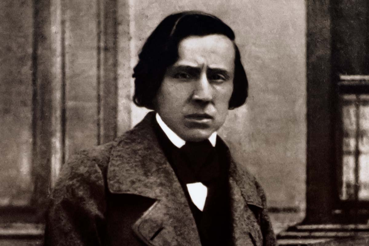 Warsaw Chopin Tour - the old picture of famous chopin!