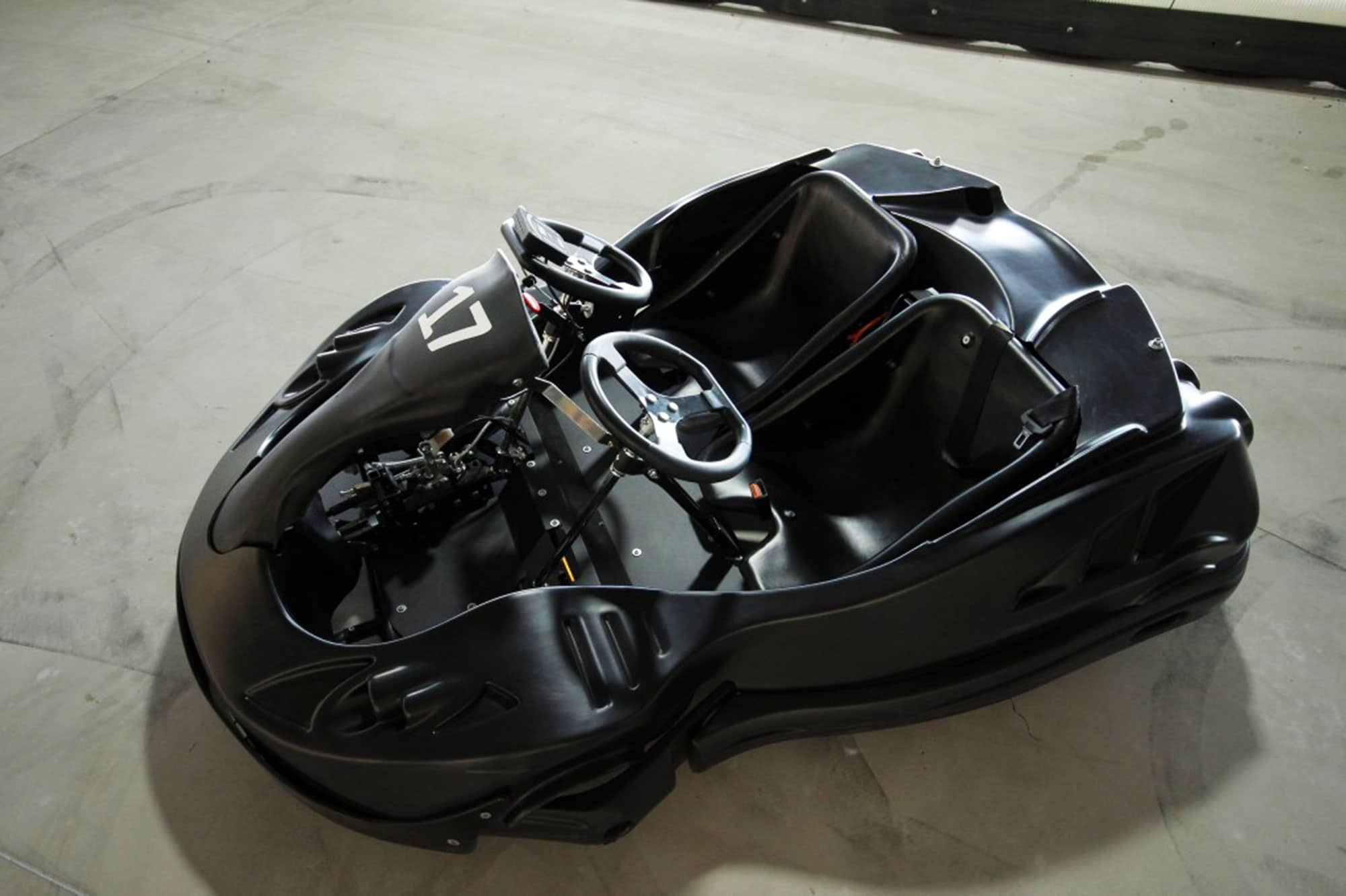 Super fast go kart available to race in Gdansk