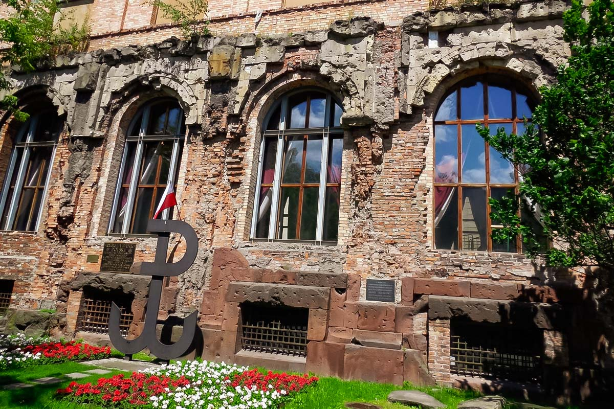 Museum of Warsaw uprising is an important place to visit!
