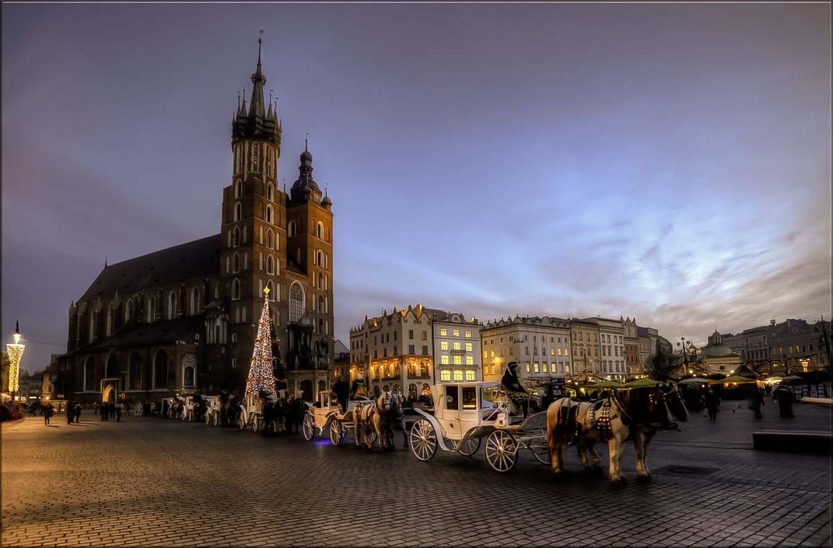 Krakow is one of the most visited Polish cities by international tourists who come for it's famous Christmas market during the new years in Poland
