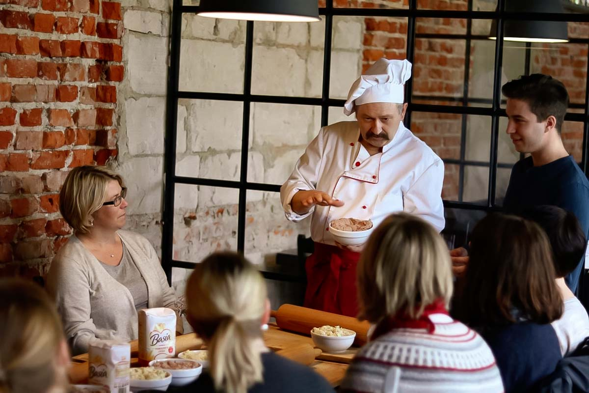 Get the insider tips from the local polish cuisine chef