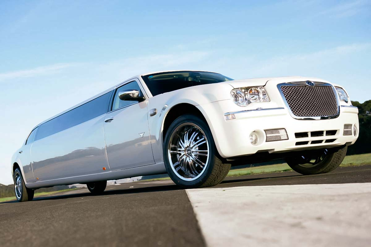 Krakow airport transfer in a stylish chrysler limousine is an amazing option for corporate events in Krakow