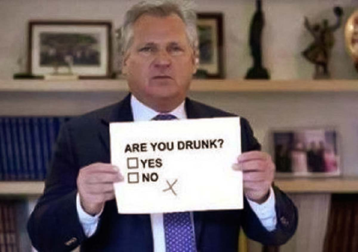 Polish president Kwasniewski also likes vodka