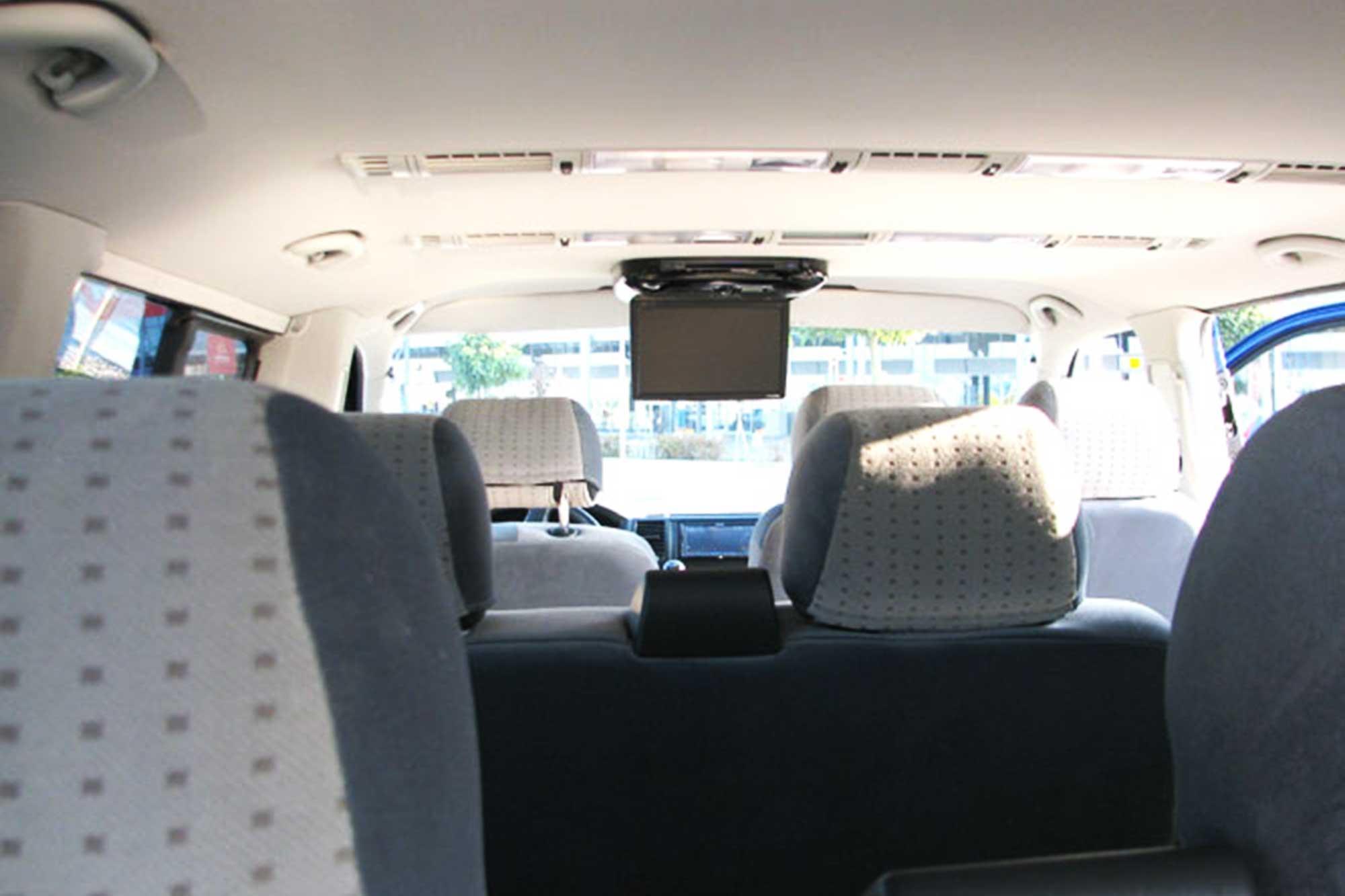 A bordo do ônibus você terá um LCV com filme e assentos confortáveis.