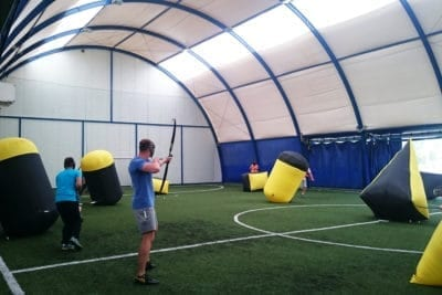 Archery Tag activity in Gdansk is a great way to actively spend time in Poland
