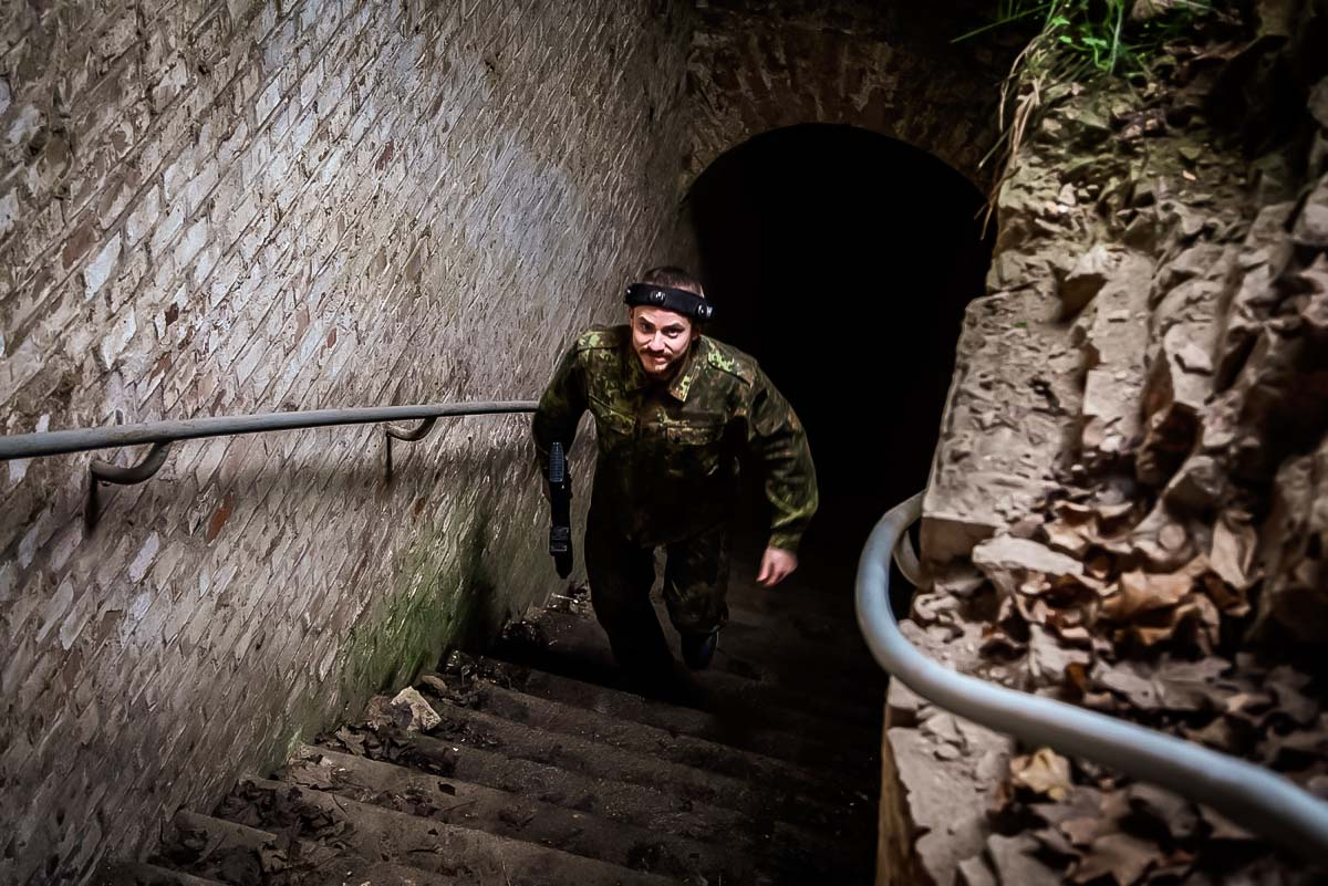 Get lost in the basements of the ancient fort while enjoying this high adrenaline game with your buddies on a bachelor party in Poznan