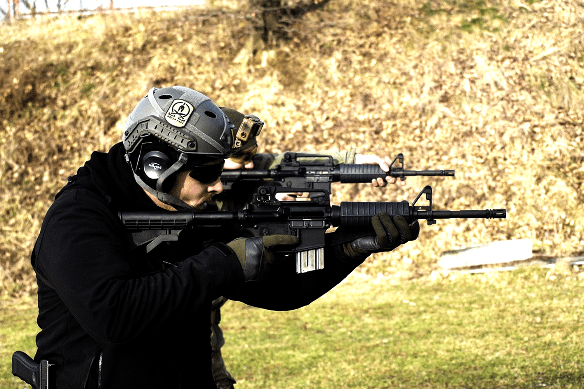 Gun Shooting activity for a company event in Wroclaw