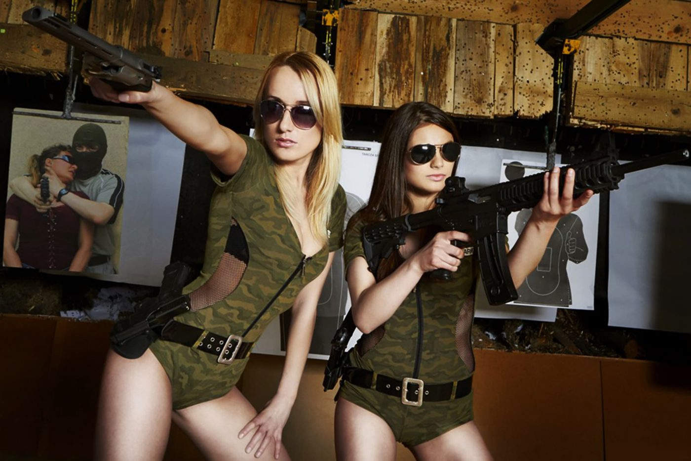 gun shootign is a great idea also for hen parties in Gdansk