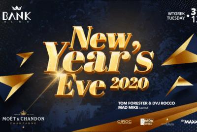 NYE 2021 @ BANK CLUB