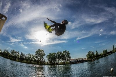 Book a spot with your friends at cable wakeboarding in Wroclaw