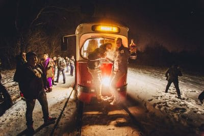 Hire a private party tram in breslau