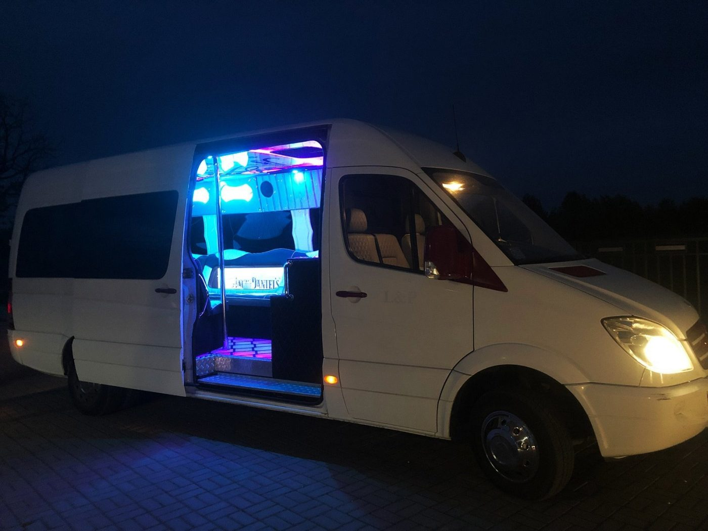 Hop on a party bus with a private group bachelor party in Wroclaw