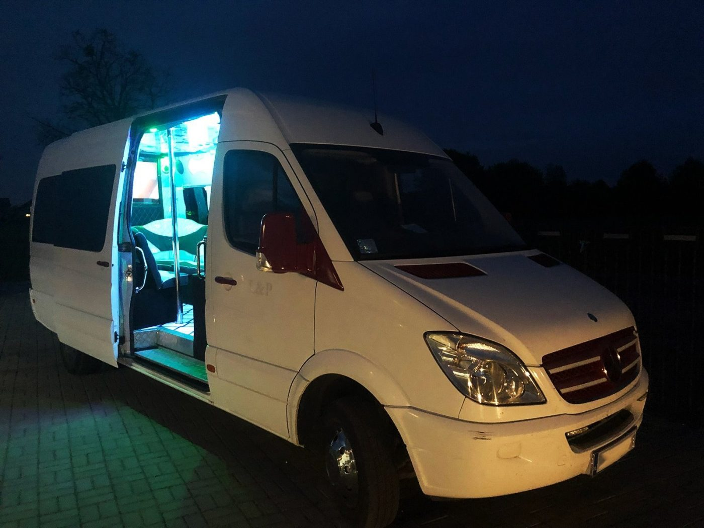 Hire a party bus in Wroclaw for a bachelor party